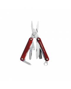 Leatherman Squirt PS4 Keychain Multi Tool - Red