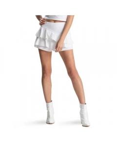 Just Nature Women's Natural Skirt - White