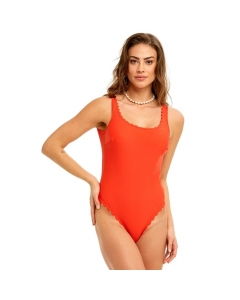 Just Nature Women's Red Nature Swimsuit