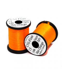 Uni Floss Neon Fly Tying Thread 13.7m