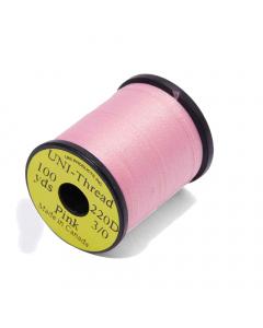 Uni 3/0 Unwaxed Fly Tying Thread 91m - Pink