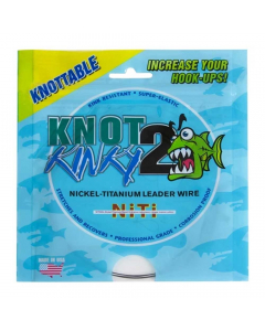 Knot 2 Kinky Single Strand Nickel - Titanium Wire Leader