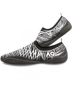 Aqurun Low-Top Water Shoes - Silver/Black