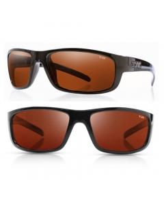Tonic Bono Polarized Sunglasses - Shiny Black / Copper Photochromic