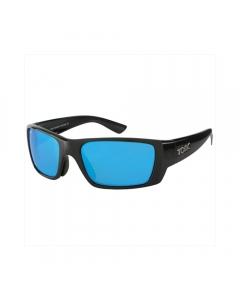 Tonic Rise Polarized Sunglasses - Shiny Black / Blue Mirror