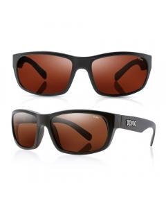 Tonic Torquay Polarized Sunglasses - Matte Black / Copper Photochromic