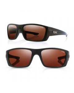 Tonic Youranium Polarized Sunglasses - Matte Black / Copper Photochromic
