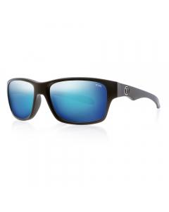 Tonic Tango Polarized Sunglasses - Matte Black / Blue Mirror