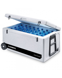 Dometic Cool-Ice CI 85 Insulation Box with Wheels - White, 87 Liters