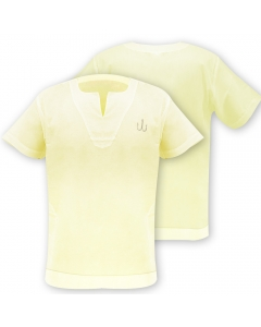 Medar Moqassar 100% Cotton Fishing Shirt - Yellow
