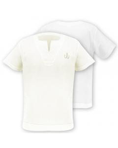 Medar Moqassar 100% Cotton Fishing Shirt - White