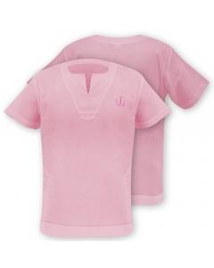 Medar Moqassar 100% Cotton Fishing Shirt - Pink