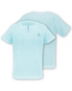 Medar Moqassar 100% Cotton Fishing Shirt - Light Blue