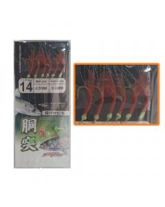 Seaguar High Carbon Steel Hook Sabiki (Size: 14)