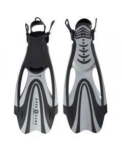 Aqua Lung Proflex II Snorkeling Fins - Silver (Size: S)
