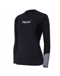 Maluni WLS04 Black Swan Women's Long Sleeve Rashguard