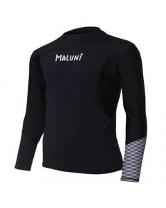 Maluni MLS10 Triple Black Men's Long Sleeve Rashguard