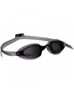 Aqua Sphere K180+ Dark Lens Lady Swimming Goggles - Purple/Silver