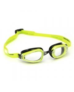 Aqua Sphere K180 Clear Lens Swimming Goggles - Yellow/Black