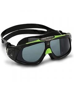 Aqua Sphere Seal 2.0 Dark Lens Swimming Goggles - Black/Green