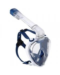 Aqua Lung Smart Snorkel Full Face Mask System - White/Blue