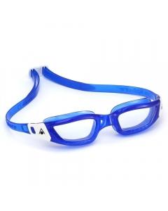 Aqua Sphere Kameleon Blue Frame Clear Lens Swimming Goggles