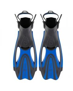 Aqua Lung Zinger Snorkeling Fins - Grey/Blue