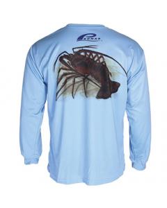Promar Lobster Sunguard Shirt - Light Blue