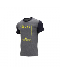 Aqua Marina Atlas Men's Rashguard SS - Grey