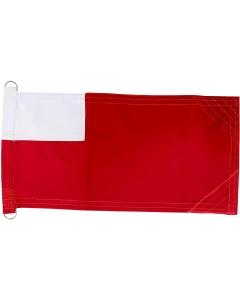 Abu Dhabi Boat Flag, Single Layer Stitch Minimatt Fabric