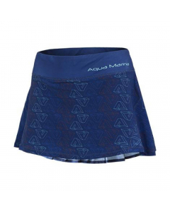 Aqua Marina Avenir Printed Women's Beach Skirt - Navy