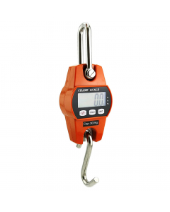 Mini Digital Crane Scale 300kg/600lbs with LCD - Orange