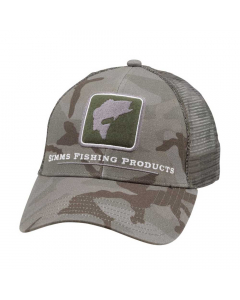 Simms Bass Icon Trucker Hat - PC Mineral
