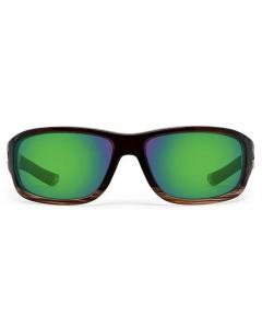 Nines Berryessa Polarized Sunglasses (Hickory / Amber Brown Lens Green Mirror)