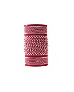 Buff Original Shemag Neckwarmer - Red/White
