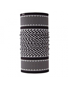 Buff Original Shemagh Neckwarmer - Black/White