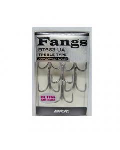 BKK Fangs BT663 Ultra Antirust Treble Hook