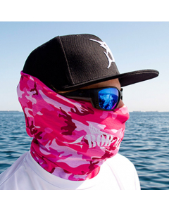 Bob Marlin Bob Camo Face Shield – Pink