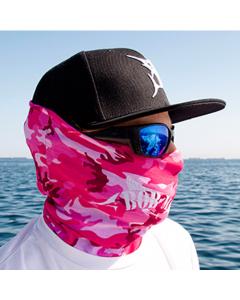 Bob Marlin Bob Camo Face Shield – Pink