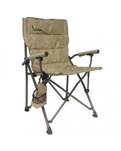 Camptrek Folding Camping Chair - Brown