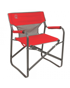 Coleman C004 Outpost Breeze Deck Chair - Red