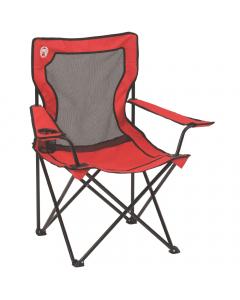 Coleman Broadband Mesh Quad Chair - Red