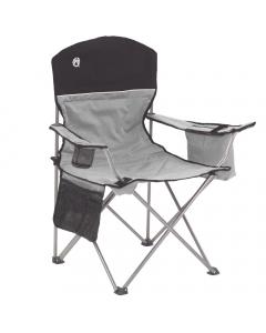 Coleman Cooler Quad Chair - Grey