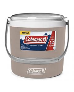 Coleman 9Qt Party Circle Cooler 8.5 Liter - Sandstone