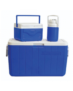 Coleman Combo Cooler 48QT (45 Liter) - Blue
