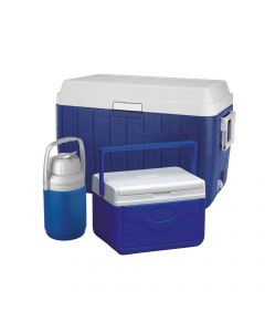 Coleman Icebox Combo Set 54QT (51 Liter) - Blue