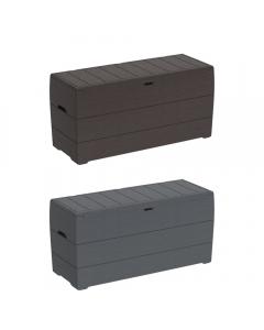 Cosmoplast Cedargrain Deck Storage Box 270 Liters
