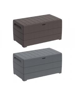 Cosmoplast Cedargrain Deck Storage Box 416 Liters