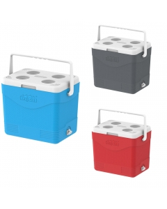Cosmoplast KeepCold Picnic Iceboxes with Cup Holders & Leak-proof Tap