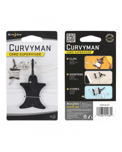 Nite Ize Curvyman Cord Supervisor - Black